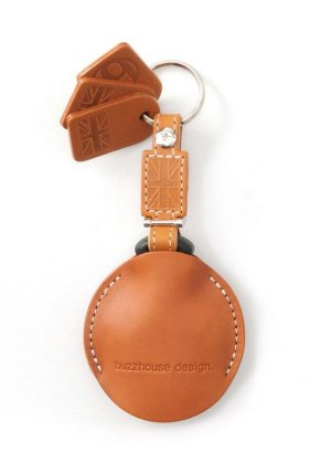 Photo3: buzzhouse design BMW MINI handmade leather Key ring Cover R55,R56,R57,R58,R59,R60 Camel (Made in Japan)